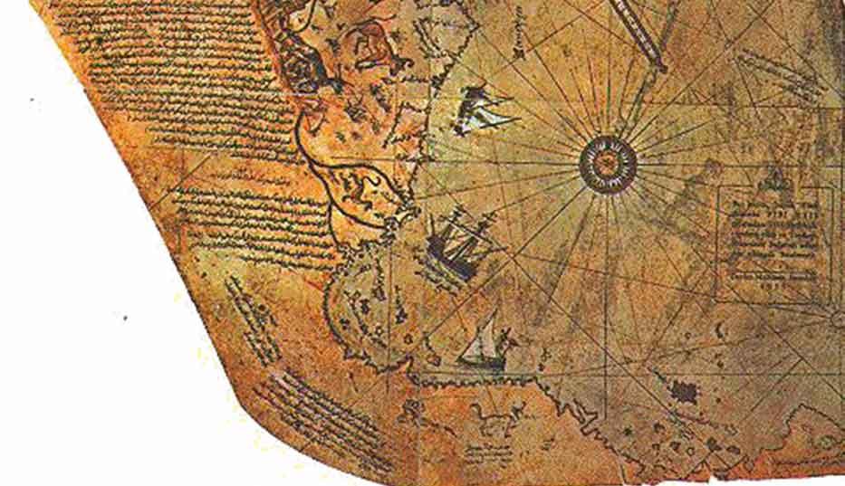 ピリ・レイスの地図の真相をレイヤーで分析! | 占い007