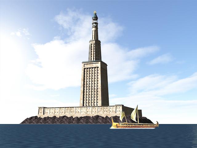 アレクサンドリアの大灯台