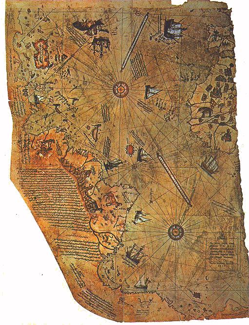 ピリ・レイス地図